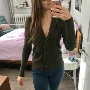 American Eagle Outfitters cowl cardigan sweater